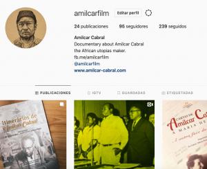 Amilcar Instagram site